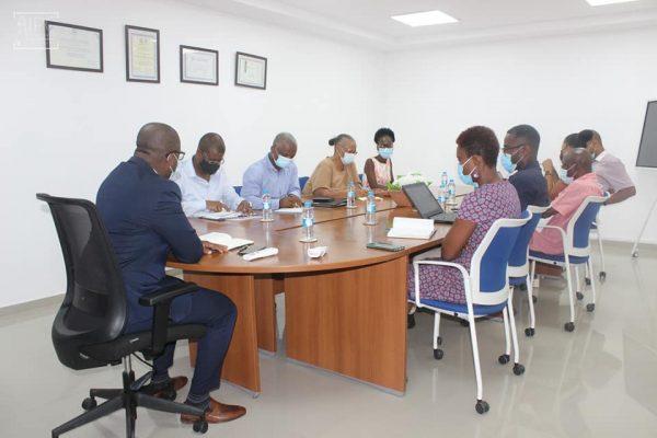 Presidente do IPC encontra com Comissão Preparatória Projeto de Celebração dos 500 Anos da Diocese de Santiago de Cabo Verde