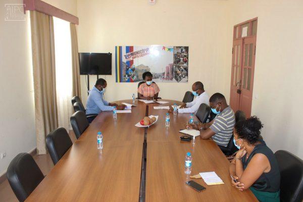 Presidente do IPC reúne com a Presidente da CMSC