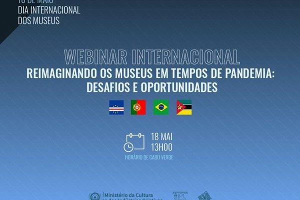 Webinar internacional dia dos museus